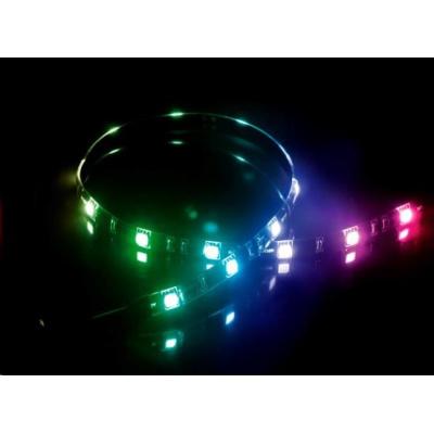 AKASA LED pásek Vegas MB, magnetický, 50cm, RGB 12V