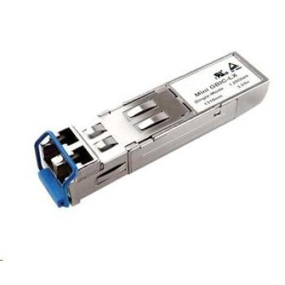 SFP transceiver 1,25Gbps, 1000BASE-LX, SM, 20km, 1310nm (FP), LC dup., 0 až 70°C, 3,3V, DMI, HP komp. JD119B OEM