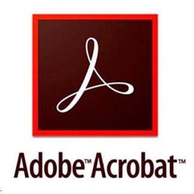 Acrobat Pro DC MP EU EN TM LIC SUB New 1 User Lvl 1 1-9 Month