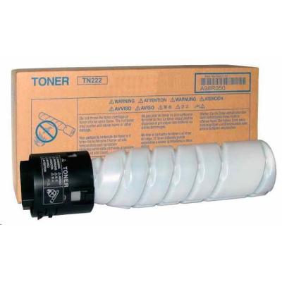 Minolta Toner TN-222, černý do bizhub 266, 306 (2x 12k)