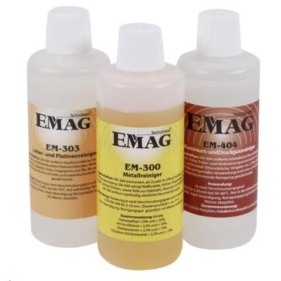CONRAD Sada čisticích koncentrátů Emag, k použití v dílně, 3 x 100 ml