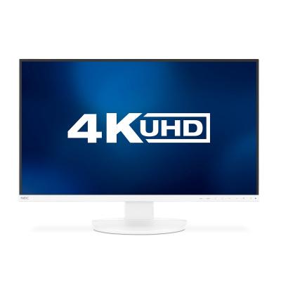 "NEC MT 27"" LCD MuSy EA271U, W-LED IPS,5ms3840x2160,350cd,1300:1, DP, HDMI, USB C 60W, USB 3.1(3+2), audio,White"