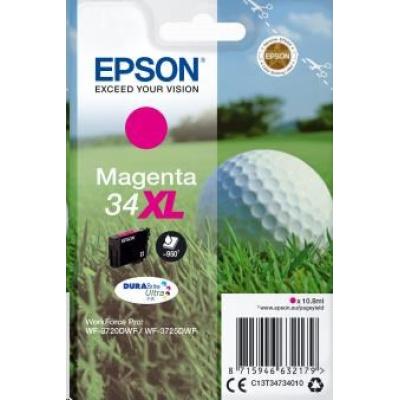 "EPSON ink bar Singlepack ""Golf"" Magenta 34XL DURABrite Ultra Ink 10,8 ml"