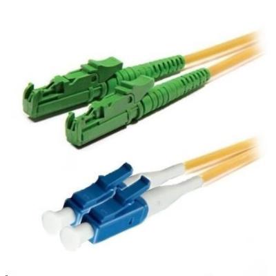 Duplexní patch kabel SM 9/125, OS2, E2000(APC)-LC(PC), LS0H, 3m