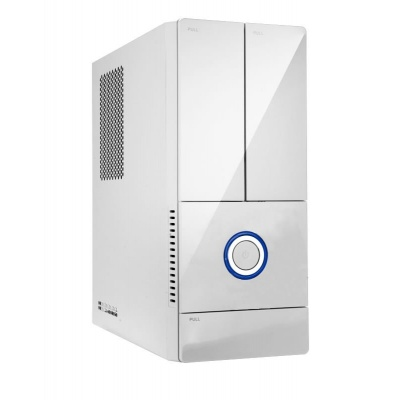 IN WIN skříň BK644, mATX, 300W / 4 x USB 2.0/ HD audio/ partition plate/ dust filter/ tool free/ White