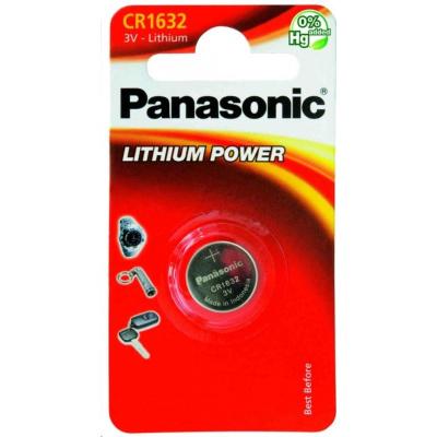 PANASONIC Lithiová baterie (knoflíková) CR-1632EL/1B  3V (Blistr 1ks)