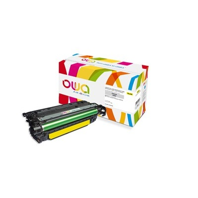 OWA Armor toner pro HP Color Laserjet Ese CM4540, 12500 Stran, CF032A, žlutá/yellow