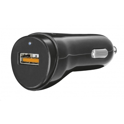 TRUST Ultra Fast USB Car Charger with QC3.0 and auto-detect