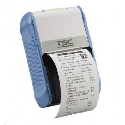 TSC Alpha-2R, 8 dots/mm (203 dpi), USB, Wi-Fi, bílá, modrá