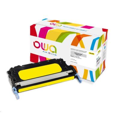 OWA Armor toner pro HP Color Laserjet 3600, 4000 Stran, Q6472A, žlutá/yellow