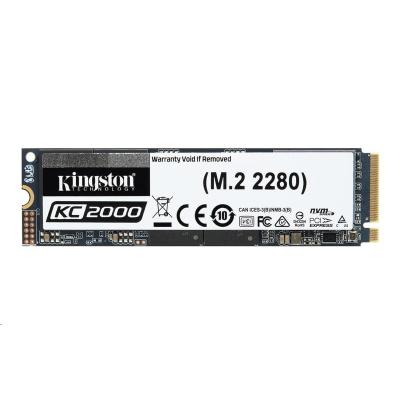 Kingston SSD 500GB disk PCIe - M.2 version NVMe