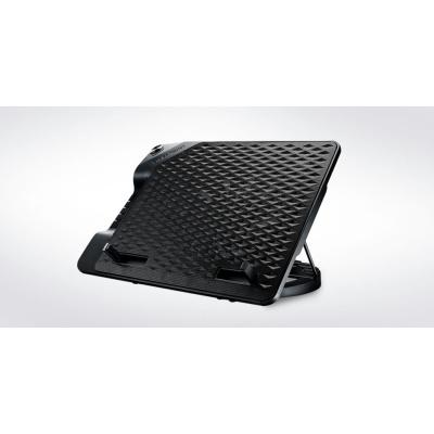 """Cooler Master chladící podstavec NotePal ErgoStand III pro notebook do 17"""", 23cm, černá"""