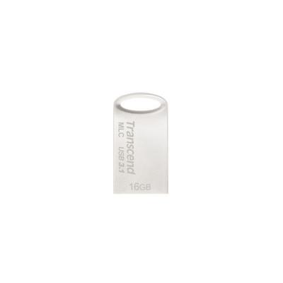 TRANSCEND Flash Disk 16GB JetFlash®720S, USB 3.1, MLC solution (R:130/W:25 MB/s) stříbná