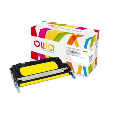 OWA Armor toner pro HP Color Laserjet 3800, CP3505, 6000 Stran, Q7582A, žlutá/yellow
