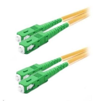 Duplexní patch kabel SM 9/125, OS2, SC(APC)-SC(APC), LS0H, 1m