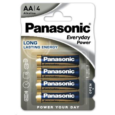 PANASONIC Alkalické baterie Everyday Power  LR6EPS/4BP AA 1,5V (Blistr 4ks)