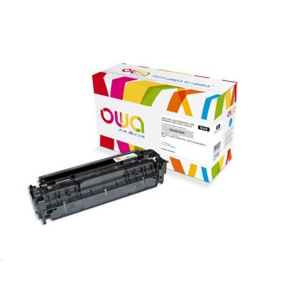 OWA Armor toner pre HP Color Laserjet pre300 M351, M375, pre400 M451, M475, 4000 strán, CE410X, čierna/black