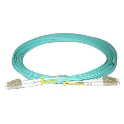 Duplexní patch kabel MM 50/125, OM3, LC-LC, LS0H, 15m