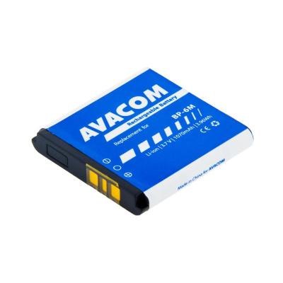 AVACOM baterie do mobilu Nokia 6233, 9300, N73 Li-Ion 3,7V 1070mAh (náhrada BP-6M)