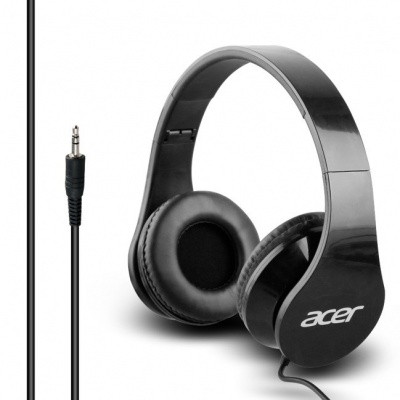 Acer Over-Ear Headphones Black, retail box