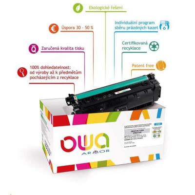 OWA Armor toner pre HP Laserjet Ese M806, M830, 40000   strán, CF325X, čierna/black
