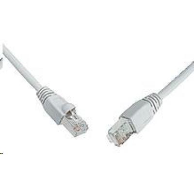 Solarix Patch kabel CAT5E SFTP PVC 10m šedý snag-proof C5E-315GY-10MB