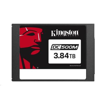 Kingston SSD 3840GB Data Centre DC500M (Mixed Use) Enterprise SATA