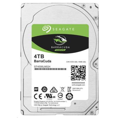 "SEAGATE HDD BARRACUDA 2.5"" 4TB, SATAIII/600 5400RPM, 128MB cache, 15mm"