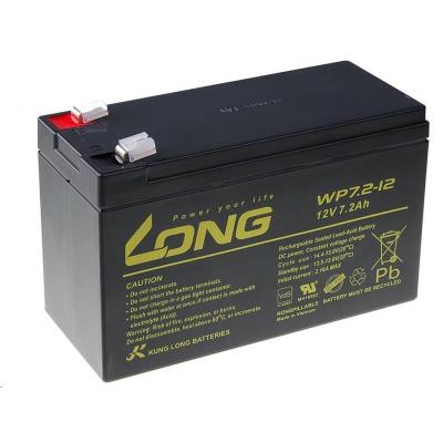 Long 12V 7,2Ah olověný akumulátor F2