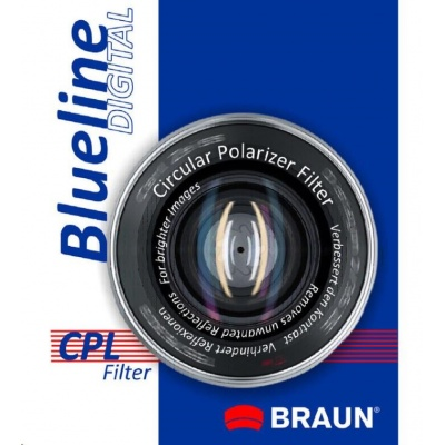 Braun filtr C-PL BlueLine 55 mm