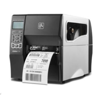 ZEBRA ZT230t průmyslová tiskárna, 203dpi, RS-232, USB, LAN, ZPL , TT, řezačka + zásobník