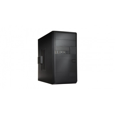 IN WIN skříň EFS054, 2x USB 3.0 + 2x USB 2.0, Mini Tower, bez zdroje, Black