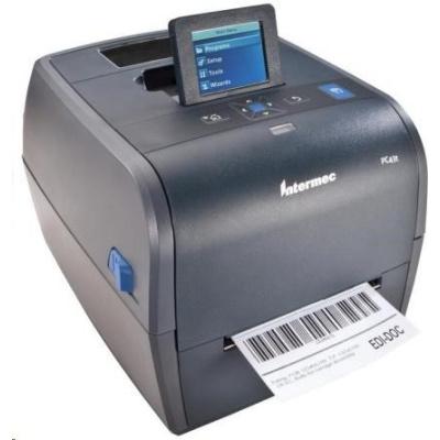 Honeywell PC43t, 12 dots/mm (300 dpi), MS, RTC, display, EPLII, ZPLII, IPL, USB