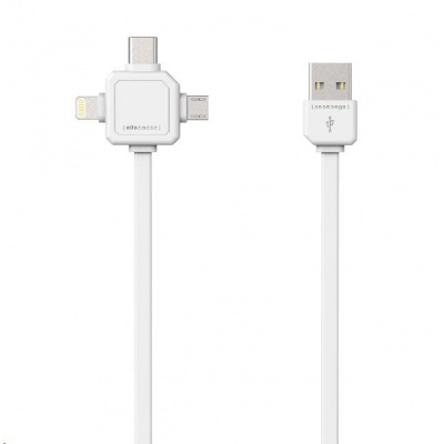 Allocacoc USBcable USB-C White