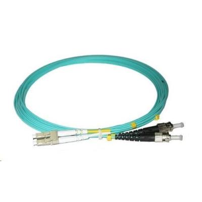 Duplexní patch kabel MM 50/125, OM3, LC-ST, LS0H, 5m